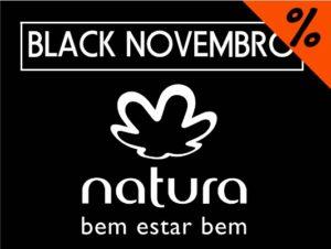 Cupons de desconto Natura Black Novembro