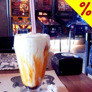 Cupom de desconto Rock N Roll Burger - Milk Shake de vários sabores: Pague 1 e leve 2