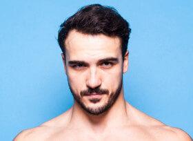 Pacote completo: 10 sessões de depilação a laser na faixa de barba