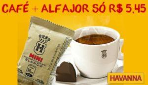 Cupom de desconto Havanna - café mais alfajor