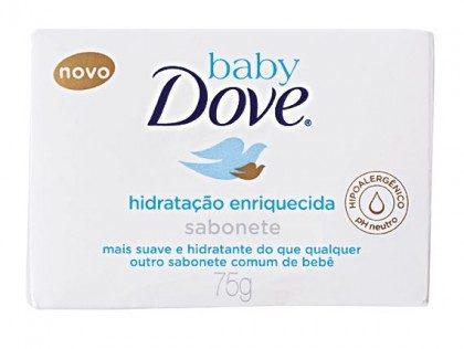 Sabonete Infantil Baby DOVE Hidratação Enriquecida e/ou Hidtratação Sensível 75g!