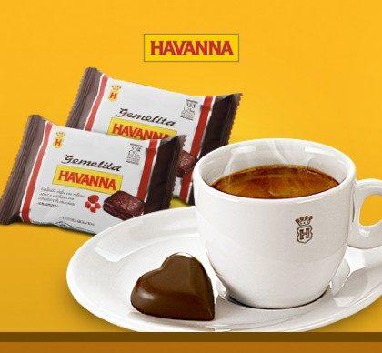 Combo Espresso: GANHE 1 Café Espresso Havanna na compra de 2 Gemelitas Negras