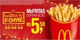 McFritas R$5,50 – Bateu a Fome das 15h às 18h