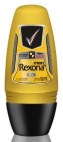 30% de desconto: Desodorante Roll On REXONA Men 50ml! Vários tipos