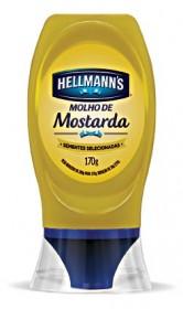 Mostarda HELLMANN'S Squeeze 170g!