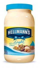 Maionese Light HELLMANN'S Pote 250g!