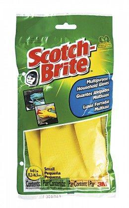 Luva Multi Uso Forrada SCOTCH BRITE! Tamanhos Pequeno, Médio e Grande