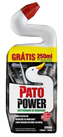 Limpador para Sanitário PATO Power 500ml!