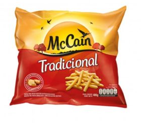 Batata Congelada MCCAIN Corte Tradicional Pacote 400g!
