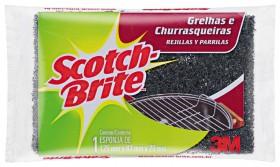 Esponja de fibra para limpeza de grill SCOTCH-BRITE!