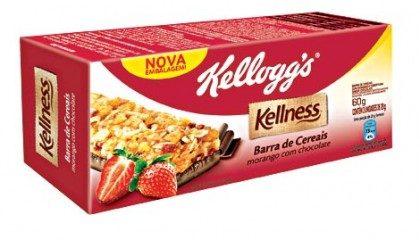 Cereal em Barra KELLNESS 60g Caixa com 3 Unidades! Vários sabores