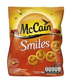 Batata Congelada MCCAIN Smiles Pacote 600g!