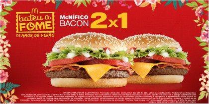 McNifico Bacon 2×1 – Bateu a Fome
