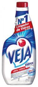 Limpador para Vidros VEJA Vidrex Cristal Refil 500ml!