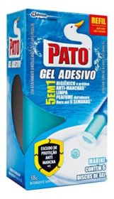 Desodorizador Sanitário Gel Adesivo PATO Refil! Vários tipos