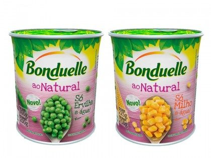 30% de desconto: Ervilha e Milho ao Natural Bonduelle Lata 200g!