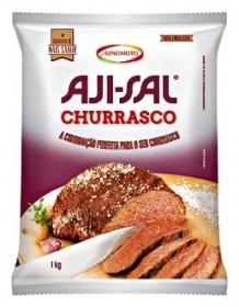 50% de desconto: Sal Especial para Churrasco AJI-SAL Pacote 1kg!