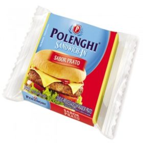 Queijo Sandwichin Prato Zero Lactose 144g!