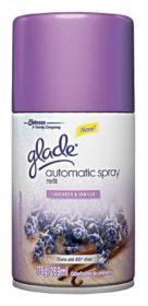 Odorizador de Ambientes GLADE Automatic Spray Lavanda e Vanilla Refil 269ml!