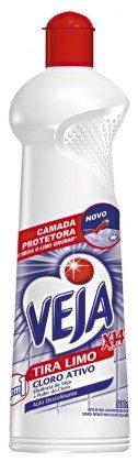 Limpador para Banheiro VEJA Limpa Limo com Cloro Ativo 500ml!