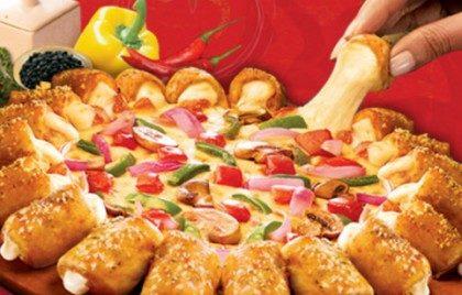 Pizza Grande Cheesy Pop Sabores Tradicionais com 30% de desconto