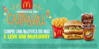 Compre McOferta Big Mac Ganhe McFlurry