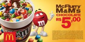 McFlurry M&Ms Chocolate R$5,00