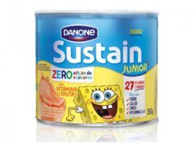 30% de desconto: Sustain Junior Zero Açúcar 350g Sabor Vitamina de Frutas!
