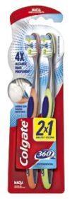 Escova Dental COLGATE 360! Vários tipos