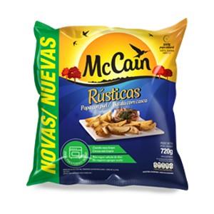 Batata Congelada MCCAIN Rústicas Pacote 720g!