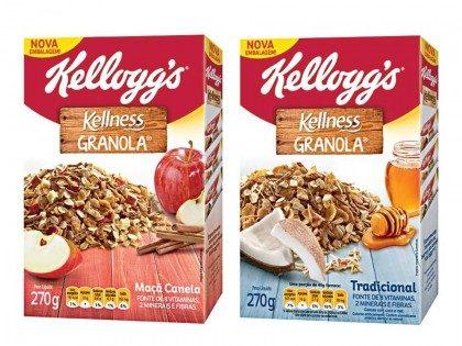 Granola Kellness KELLOGG´S 270g! Vários sabores