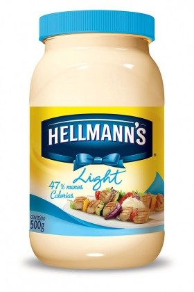 30% de desconto: Maionese Light HELLMANN\'S Pote 500g!