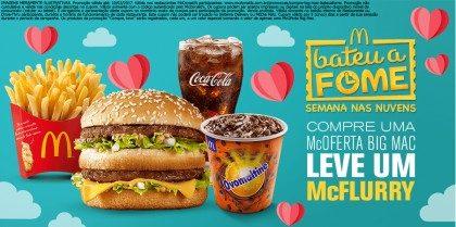 Compre McOferta Big Mac Leve McFlurry - Bateu a Fome