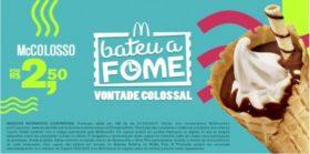 McColosso R$2,50 - Bateu a Fome