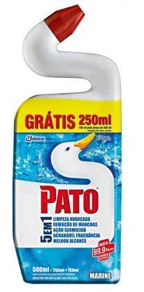 Limpador para Sanitário PATO Germinex  5 em 1 500ml!