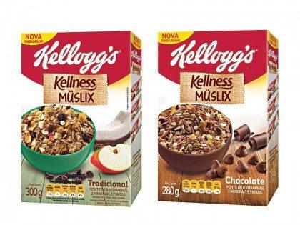 Muslix Kellness KELLOGG´S 280G e 300g! Vários sabores