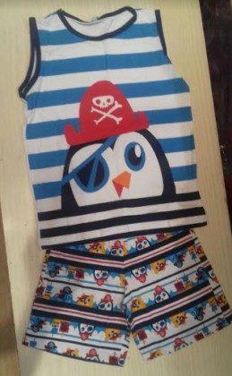 Short Doll Teen Piratas