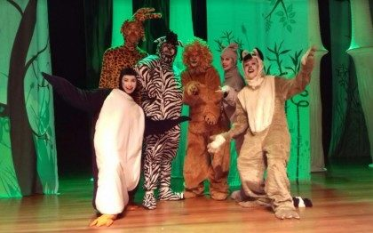 """Espetáculo Infantil """"Madagascar, o bicho vai pegar"""""""