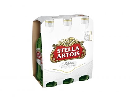 Stella Artois Long Neck 275ml: 20% de desconto no Pack de 6 unidades [18+ anos]