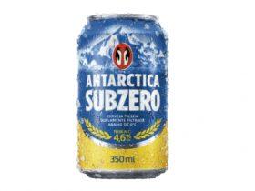 Antarctica Subzero Lata 350ml: 30% de desconto no Pack de 12 unidades [18+ anos]