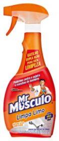 30% de desconto: Limpador Tira Limo MR MUSCULO Aparelho 500ml!