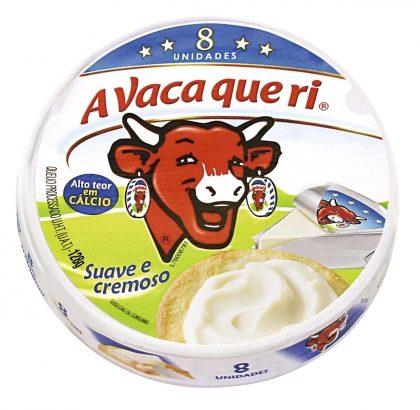 30% de desconto: Queijo Francês Source de Calcium LA VACHE QUI RIT 128g com 8 Unidades!