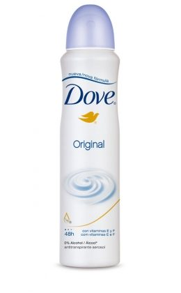 30% de desconto: Desodorante Antitranspirante Aerosol DOVE 169ML! Vários tipos