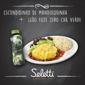 Combo Escondidinho (Escondidinho de Mandioquinha + Chá Verde) - Shopping Center 3