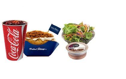 Batata Pernil BBQ + Refrigerante 500ml + Sobremesa ou Saladinha por apenas R$ 25,00