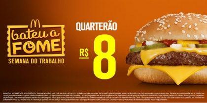 Quarterão R$8 - Bateu a Fome