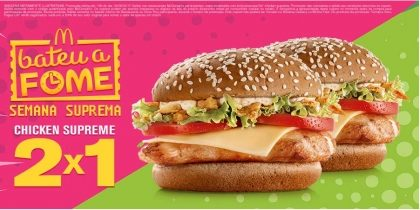 2x1 Chicken Supreme - Bateu a Fome
