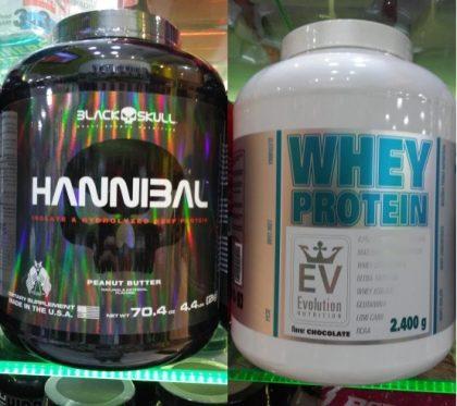 Qualquer Whey Protein das marcas Black Skull, VPX e Evolution com 20% de desconto!