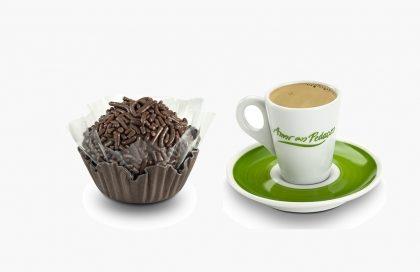 Docinho + Café por R$ 5,50