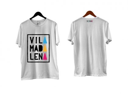 Camisetas Vila Madalena manga curta com 50% de desconto